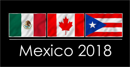 Mexico 2018 shirt logo