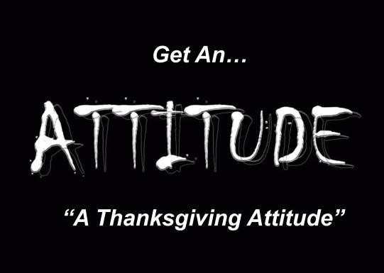 Get an attitude